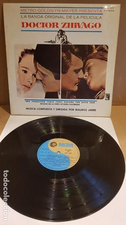 B S O Doctor Zhivago Maurice Jarre Lp Mgm 1966 Mbc Carlo Ponti Doctor Bandas