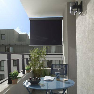 Brise Vue Retractable Pour Balcon Blooma Liso Balcon Decoration Balcon Brise Vue
