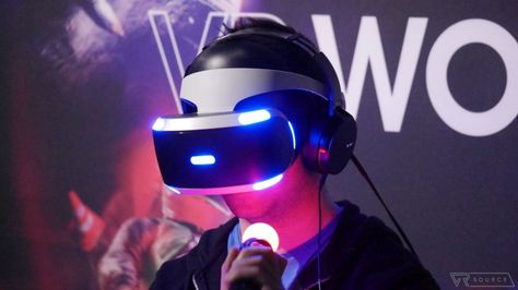 The PlayStation VR headset can work with the Xbox One sort of