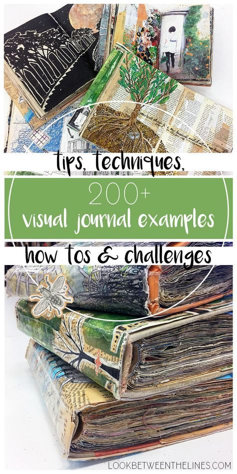 Visual Journals, Mixed Media Techniques, and What Inspires Me