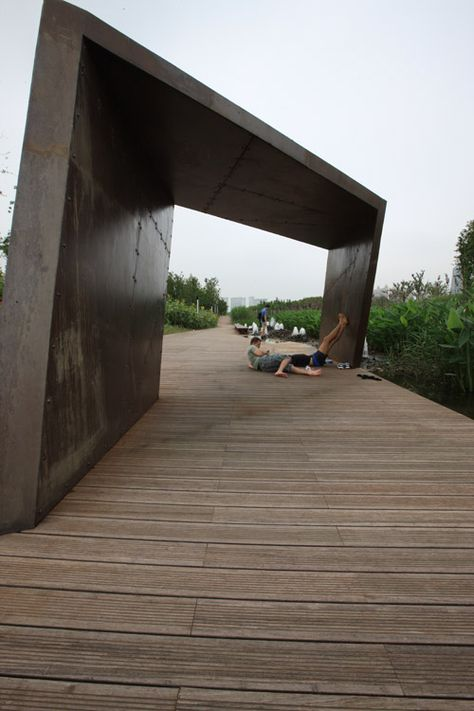 Shanghai Houtan Park by Turenscape «  Landscape Architecture Platform