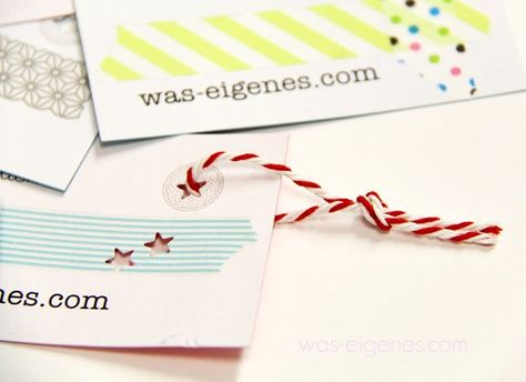 Diy Business Cards Visitenkarten Selber Machen