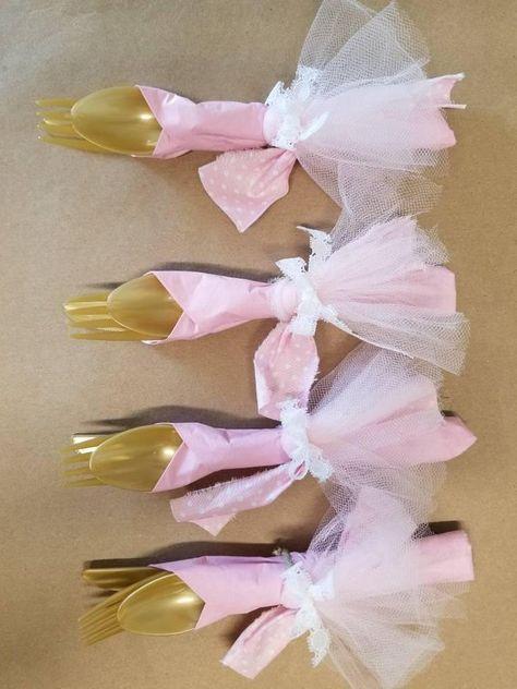 da709371b4129 Ballerine couverts Tutu fête décorations Ballet anniversaire ...