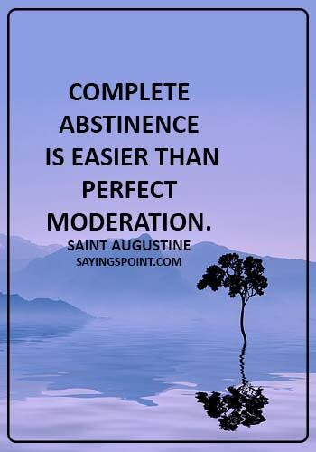 Abstinence is good why Abstinence in