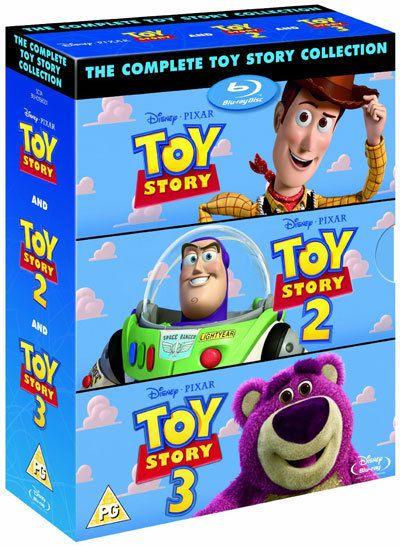 Toy Story Trilogy Blu Ray Box Set Complete 1 2 3 Disney Pixar All 3 Movies Ebay Toy Story Disney Toys Toy Story 3