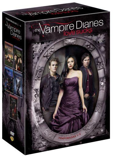 The Vampire Diaries 1ª A 5ª Temporada 25 Dvds Vampire