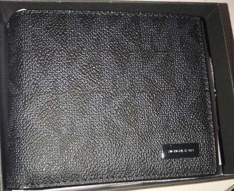 048e65bf5280 ... reduced michael kors mens jet set passcase id billfold wallet in black  signature 128 michaelkors idwalletbillfold