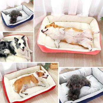 Fashion Plush Bone Dog Bed For Large Dogs With Images Blanket Dog Bed Comfortable Dog Beds Dog Blanket