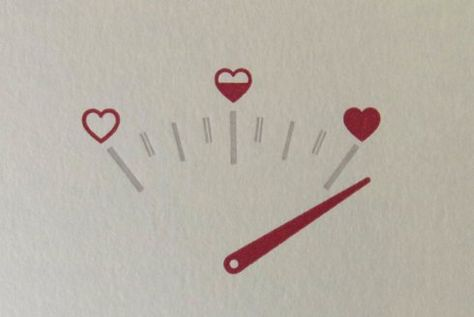 Super cute letterpress Valentine's Day card on Etsy