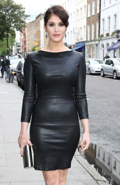 Gemma Arterton arrives for a special screening of her new movie 'Byzantium' in London.