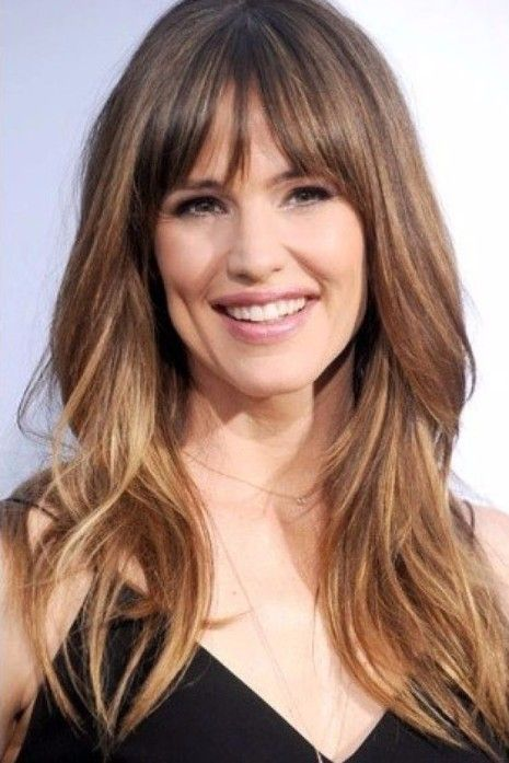 Hairstyle With Bangs In 2020 Long Hair With Bangs Long Hair