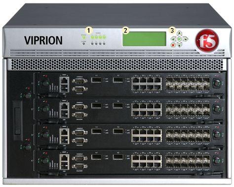 2 F5-VPR-LTM-4S-AC VIPRION LTM 4400 with PB200 BIGIP