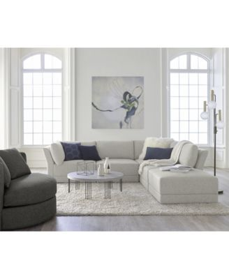 Furniture Mylie 5 Pc Fabric L Shaped Modular Sofa With Ottoman Created For Macy S Furnit Living Room Sets Furniture Furniture Quality Living Room Furniture