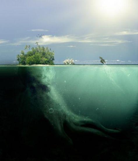 Across the River Styx – Digital Art by PSHoudini