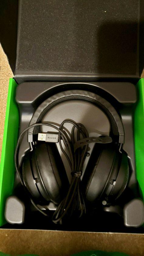 Razer Kraken 7 1 Chroma V2 Surround Sound Usb Gaming Headset Oval Gaming Headphones Ideas Of Gaming Headphones Gaming Headphones Headphones Gaming Headset