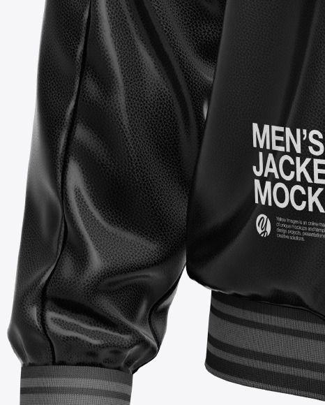 Download Men S Leather Bomber Jacket Mockup In Apparel Mockups On Yellow Images Object Mockups In 2021 Mens Leather Bomber Jacket Leather Flight Jacket Clothing Mockup