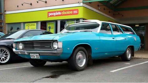 1972 Xa Ford Falcon Wagon Ford Falcon Classic Cars Ford