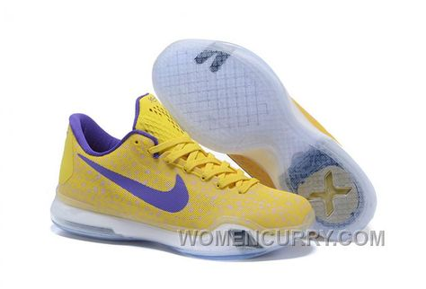 """huge discount 58c50 64977 Kobe 10 Safari Print """"Yellow Purple"""" Mens Basketball Shoes Top Deals  K52Qsp2 in 2019   Nike Kobe 10"""