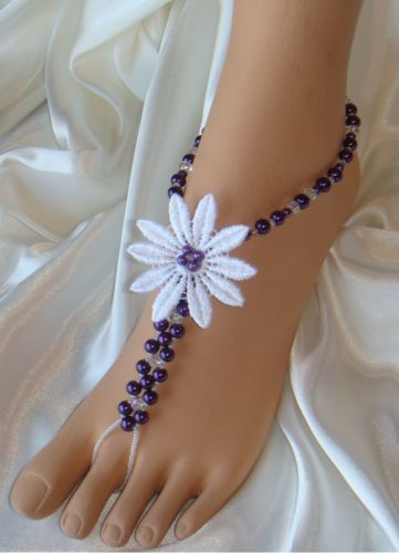 Very cute! #Barefoot #Sandals, #Foot #Jewelry, #Wedding #Sandals. Beautiful #Bridal #Jewelry you'll love forever. $53.95 per pair http://www.beautifulbarefootsadnals.com #BeachWedding #beachweddingaccessories #beachweddingideas #bridaljewelry #footjewelry #barefootsandals