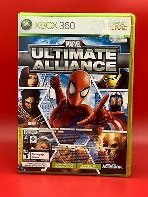 Marvel Ultimate Alliance Forza Motorsport 2 Microsoft Xbox 360