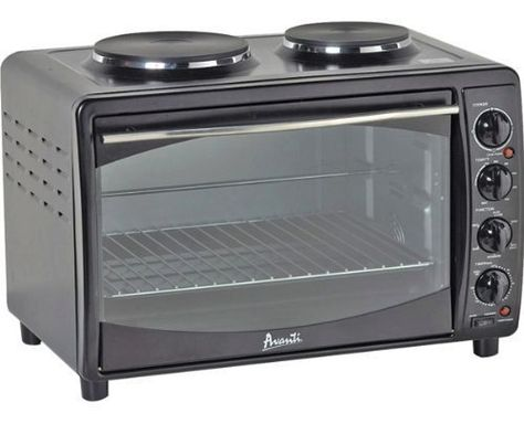 Combo Micro Oven And Stove Top For Tiny