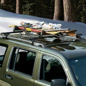 Genuine Oem Mopar Kk Jeep Liberty Cargo Roof Racks Cubierta Ajardinada Cubiertas