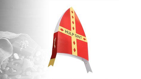 Super Leuke Kartonnen Sinterklaas Mijter Voor Alle Hulp Sinten
