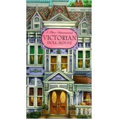 3-d victorian doll house paper doll house
