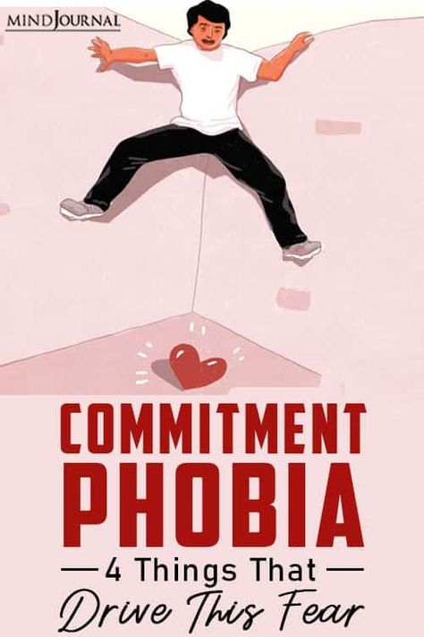 You must have encountered many people with commitment phobia. But have you ever thought about what makes them commitment-phobic? #commitmentphobia