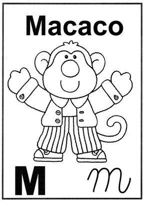 Letra M Alfabeto Para Colorir Alfabeto Para Colorir Alfabeto