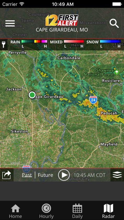 Kfvs12 Stormteam Weather News Llc Apps Ios App Weather Ios Apps