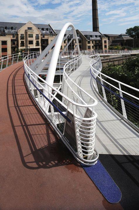 Riverside Bridge, Cambrige designed by Ramboll