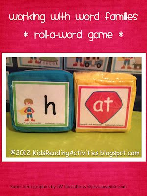 Kinder Alphabet: Motivating Little Boys to Read  cover big dice with letters and rime