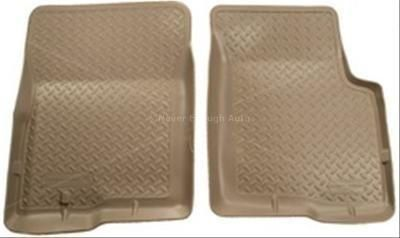 Husky Liner 33853 Front Custom Floor Liners Tan 0007 Ford Super Duty Crew Cab Details Can Be Found By Clic Husky Liners Floor Liners Toyota Tacoma Double Cab