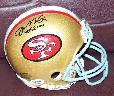 4fa19a7f3cf eBay  Sponsored Joe Montana Signed Mini Helmet With HOF 2000 Inscription SF 49ers  PSA DNA COA
