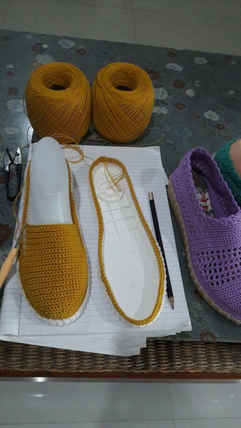 Inspiração do Dia: Sapatos de Crochê - MyKingList.com