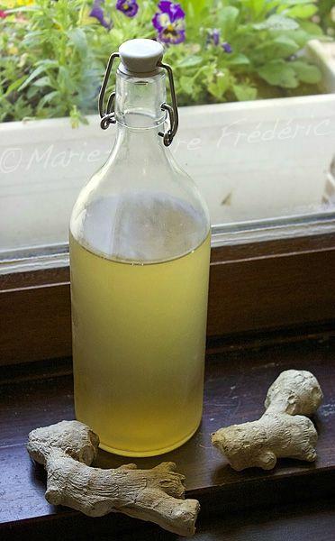 Limonade de gingembre