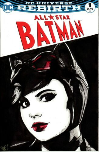 Catwoman #1  Blank Variant Cover