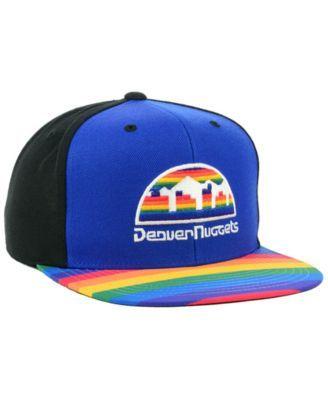 a few days away low cost store Mitchell & Ness Denver Nuggets Winning Team Snapback Cap - Blue ...