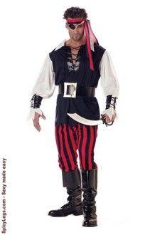 Cutthroat Pirate Adult Costume  $30.10