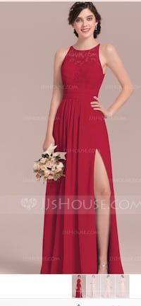 db52b530067 Used Custom Burgundy Red Bridesmaid or Special Occasion Dress for sale in  Redondo Beach -