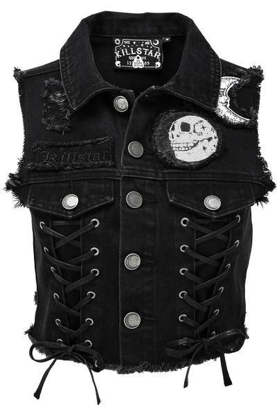 Pentagram Killstar béret out of line-Military-Gothique-uniforme