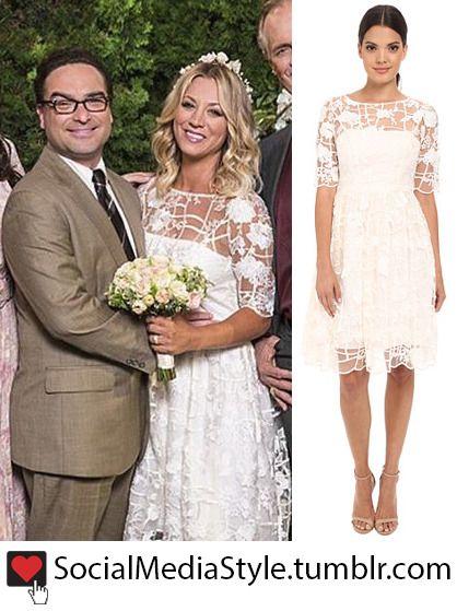 Kaley Cuoco Penny S The Big Bang Theory Wedding Dress