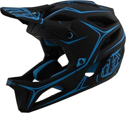 Pryme Evil Full Face BMX DH Helmet sz Adult M Black//Green