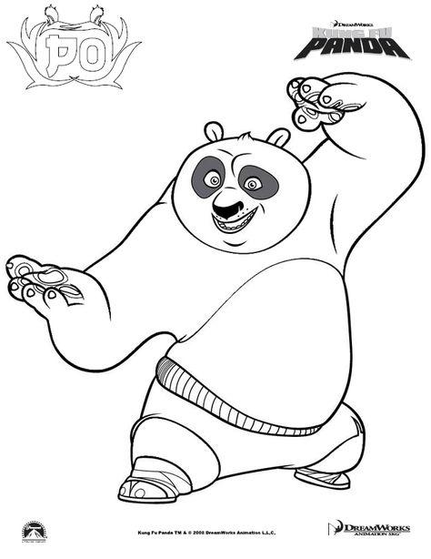 Kung Fu Panda 3 Para Colorear Google Search Coloriage Kung Fu