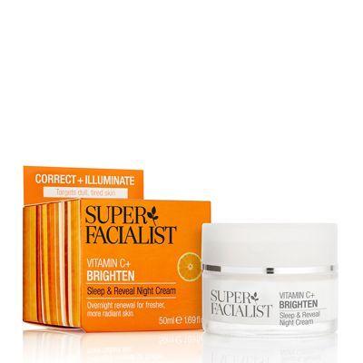 Super Facialist Vitamin C Brighten Sleep Reveal Night Cream