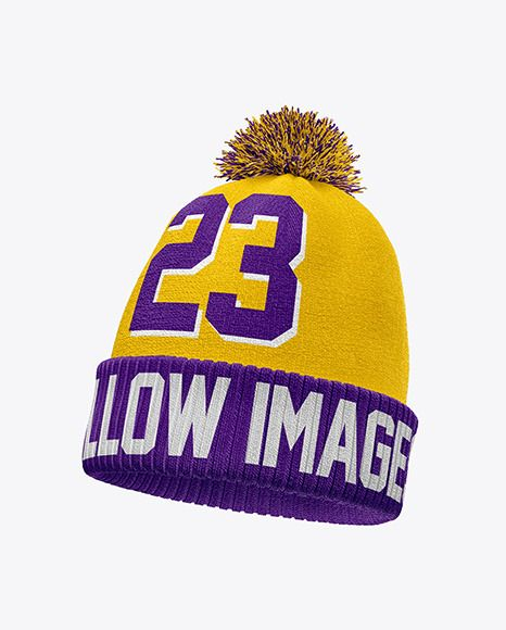 Download Winter Hat Mockup Half Side View In Apparel Mockups On Yellow Images Object Mockups Winter Hats Clothing Mockup Mockup