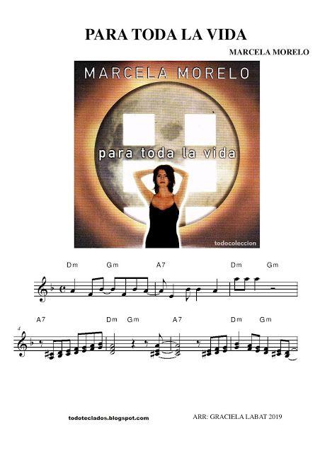 Para Toda La Vida Marcela Morelo Aretha Franklin Andy Gibb Partituras