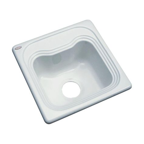 thermocast oxford drop in acrylic 16 in single bowl entertainment rh pinterest co uk
