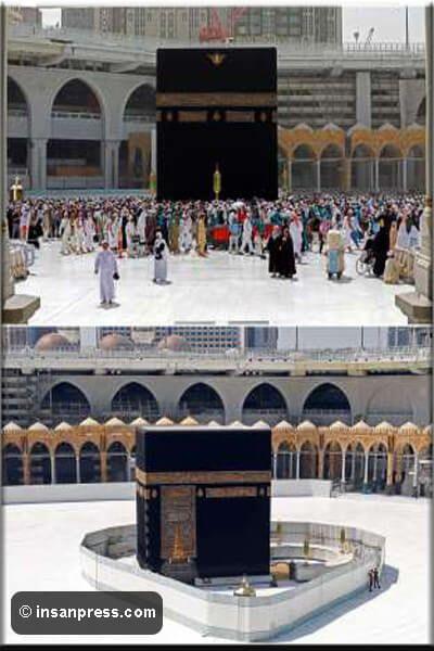 بعد إخلاء المسجد الحرام من الزوار هكذا بقى إنسان Grand Mosque Word Pictures Mosque